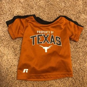 Russell Property of Texas Longhorns shirt 12M
